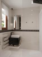 Földszinti fürdőszoba tervezete